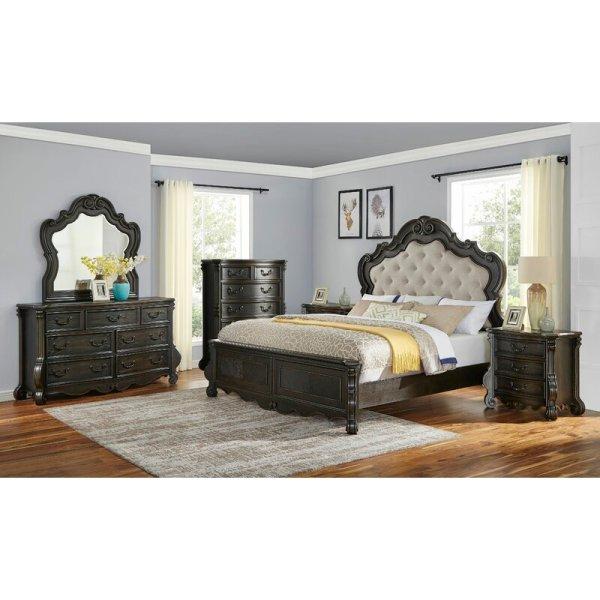 Set Tempat Tidur Mewah Klasik Nueva