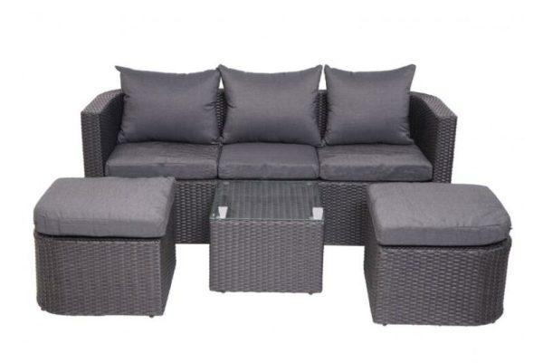 Sofa Tamu Rotan Modern Lucas