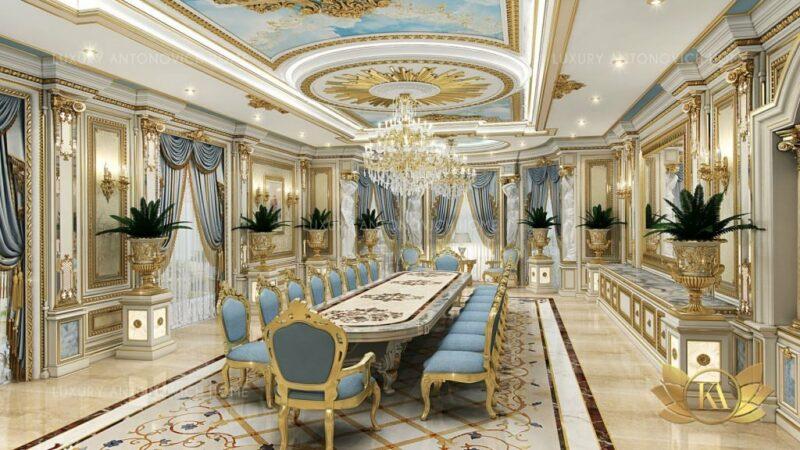 Desain Interior Rumah Mewah Klasik Modern