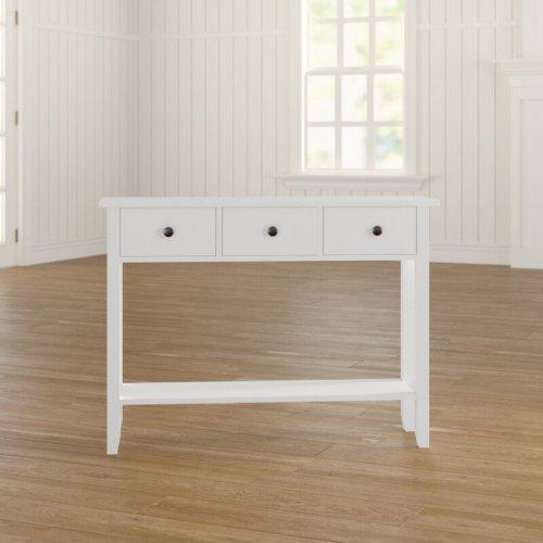 Meja Konsol Minimalis duco Putih