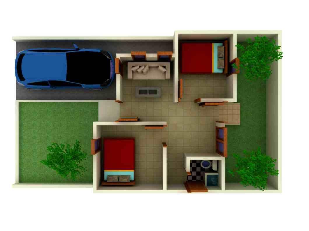 Desain Interior Rumah Minimalis Type 30 Cahaya Rumahku