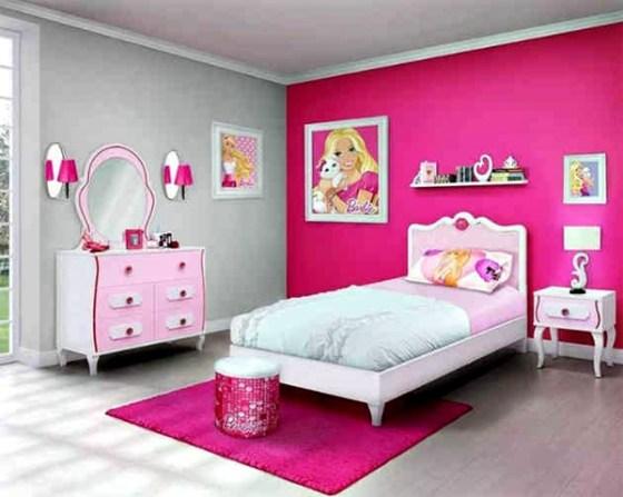 Desain Kamar Tidur Anak Perempuan Minimalis Warna Pink 3 - 25 Desain Kamar Tidur Anak Perempuan Minimalis Warna Pink