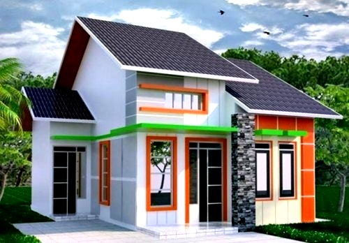 Perpaduan Warna Cat Rumah Minimalis Bagian Luar 5 - 25 Perpaduan Warna Cat Rumah Minimalis Bagian Luar 2018