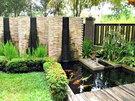 Taman rumah minimalis dengan kolam 3 - 15 Contoh Desain Taman Rumah Minimalis Modern Terbaru 2018