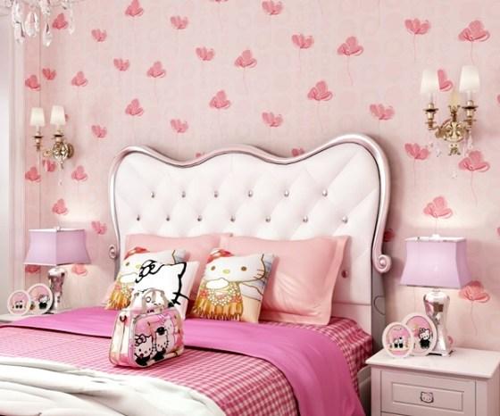 Warna Cat Dinding Kamar Shabby Chic - Warna Cat Dinding dan Desain Interior untuk Kamar Anak Perempuan Modern