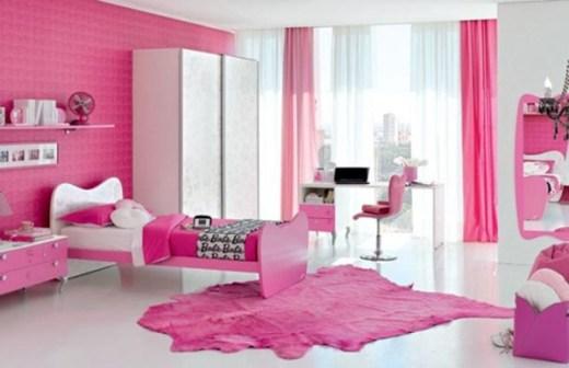 Warna Cat Kamar Tidur untuk Anak Perempuan Pink