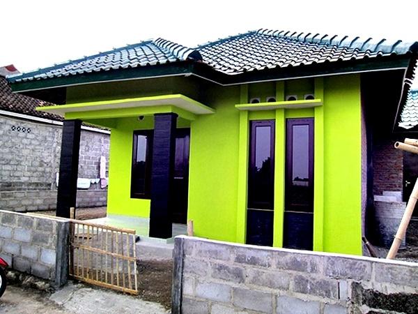 Kombinasi Warna Cat Rumah Kuning  32 warna cat rumah hijau stabilo