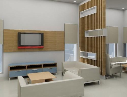 Desain Ruang Keluarga Minimalis Kecil 16