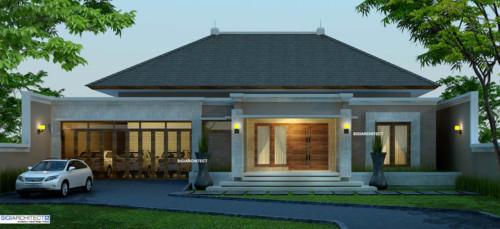 Desain Rumah Mewah 1 Lantai Modern 3 - 21 Desain Rumah Mewah 1 Lantai Modern Terbaru 2018