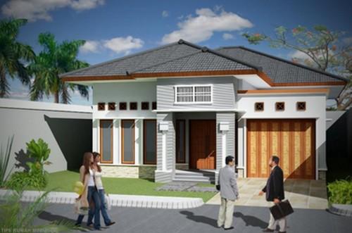 Desain Rumah Mewah 1 Lantai Modern 7