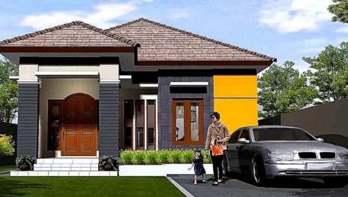 Desain Rumah Minimalis 1 Lantai Mewah 2 - 21 Desain Rumah Mewah 1 Lantai Modern Terbaru 2018