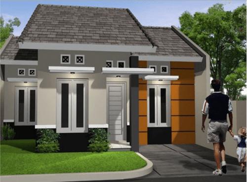Desain Rumah Minimalis Type 45 Modern 5 - 20+ Desain Rumah Minimalis Type 45 Modern Terbaru 2018