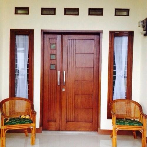 Gambar Pintu Rumah Minimalis 2 Pintu Besar Kecil 3 - 15 Model Pintu Minimalis Elegan Terlengkap 2018
