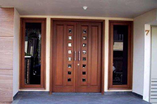 Gambar Pintu Rumah Minimalis 2 Pintu - 15 Model Pintu Minimalis Elegan Terlengkap 2018