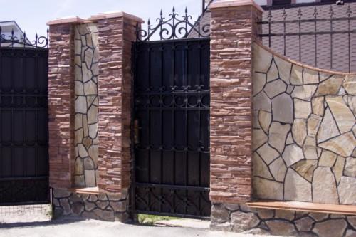 Pagar Rumah Minimalis Batu Alam 17 - 22 Gambar Pagar Rumah Minimalis Batu Alam Terbaru 2018