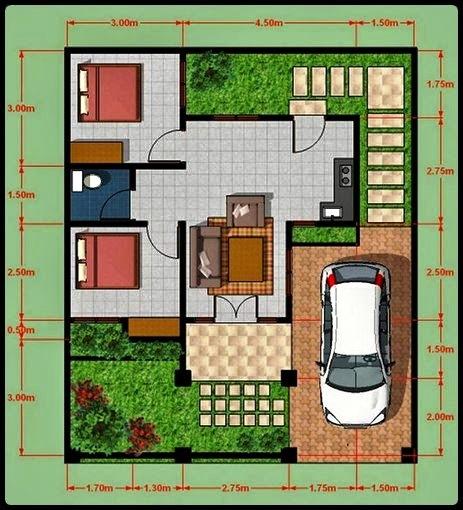 Sketsa Rumah Minimalis Sederhana 17 - 20 Contoh Gambar Sketsa Rumah Minimalis Sederhana Terbaru