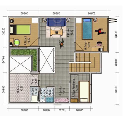 Sketsa Rumah Minimalis Sederhana 7 - 20 Contoh Gambar Sketsa Rumah Minimalis Sederhana Terbaru