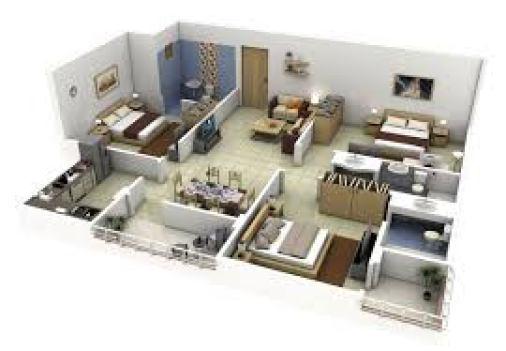 Denah Rumah Minimalis 1 Lantai 3 Kamar Tidur 6 - 18 Gambar Denah Rumah Minimalis 1 Lantai 3 Kamar Tidur Terbaik