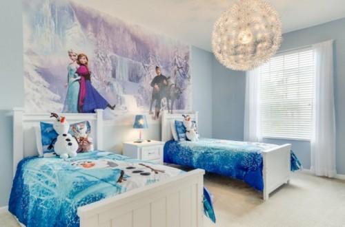 Desain Kamar Tidur Anak Perempuan Frozen 2