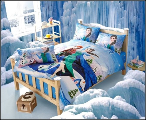 22 Desain Kamar Tidur Anak Perempuan Frozen, Hello Kitty ...