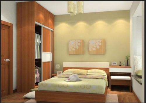 Desain Kamar Tidur Suami Istri Sederhana Tapi Romantis 4
