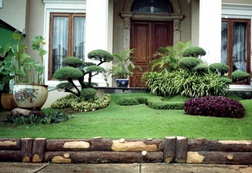 Desain Taman Minimalis Depan Rumah 5 - 23 Desain Taman Minimalis Depan dan Belakang Rumah Terbaik