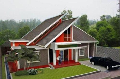 Model Atap Rumah Minimalis Bagian Depan 2 - 21 Model Atap Rumah Minimalis Bagian Depan Terbaru 2018