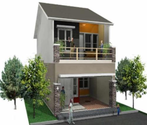 Rumah Sederhana Ukuran 6x9 2 Lantai