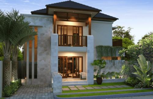 22 Gambar Rumah Mewah Minimalis 2 Lantai Terbaru 2018