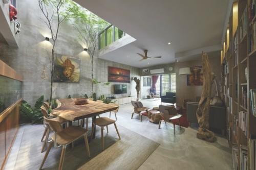 Desain Ruang Makan Bergaya Cafe 13 - 15 Desain Ruang Makan Bergaya Cafe yang Cantik dan Unik