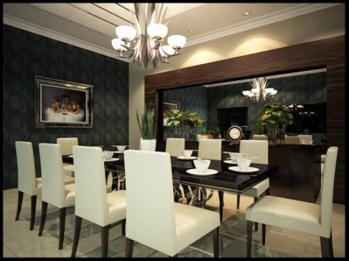 Desain Ruang Makan Bergaya Cafe 5 - 15 Desain Ruang Makan Bergaya Cafe yang Cantik dan Unik