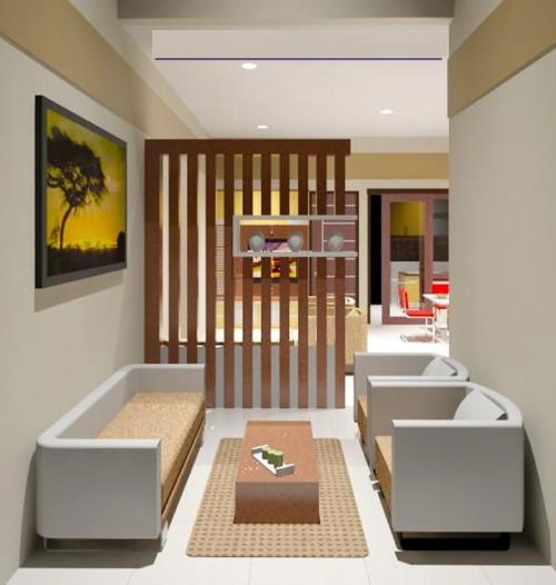 Gambar Desain Interior Rumah Minimalis Tipe 21