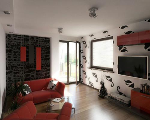 Desain Interior Ruang Tamu Minimalis Type 36 10 - 18 Desain Interior Ruang Tamu Minimalis Type 36 yang Keren