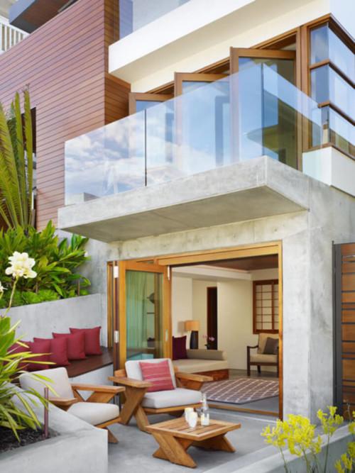 Model Teras Rumah Mewah