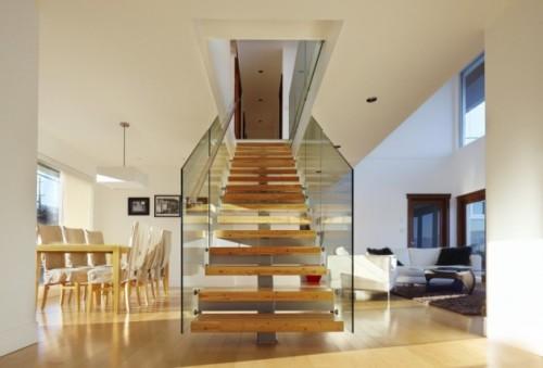 Tangga Rumah Minimalis di Ruangan Sempit