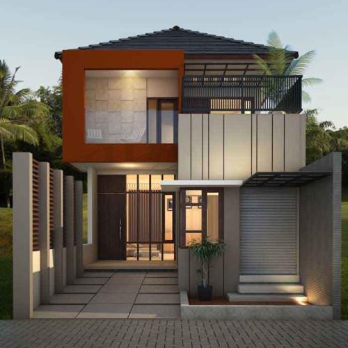 Rumah minimalis dua lantai modern 2 - Cara Terbaik Desain Rumah Minimalis 2 Lantai di Lahan Sempit