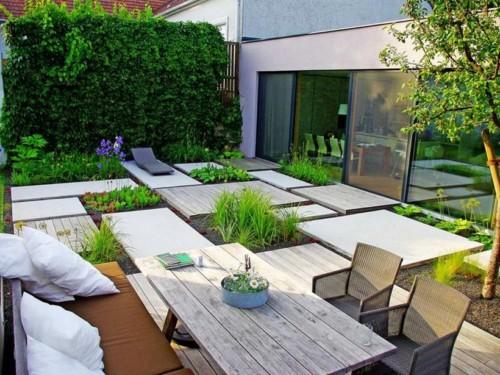 Taman minimalis untuk tempat santai 4 - 20 Desain Halaman Rumah dan Taman Minimalis Yang Sangat Menginspirasi