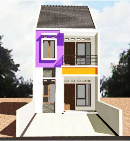 Desain Rumah Kecil 2 Lantai