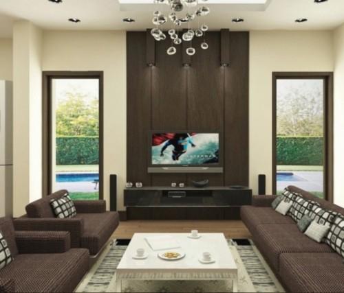 Desain Ruang TV Minimalis Modern 18 - 21 Desain Ruang TV Minimalis Modern yang Nyaman