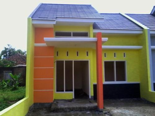 Kombinasi Warna Cat Teras Rumah Kuning Orange - 11 Warna Cat Teras Rumah untuk Tampak Depan yang Menawan