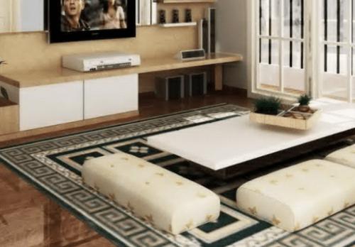 Model Ruang Keluarga dengan Meja Lesehan 1 - 21 Desain Ruang Keluarga Lesehan untuk Ruangan Sempit