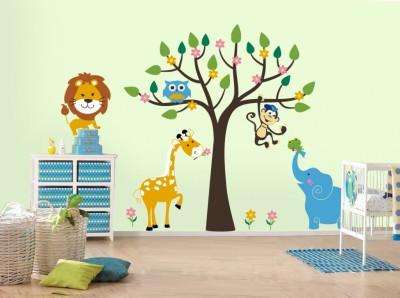 desain stiker kamar anak minimalis - 12 Desain Stiker Dinding Lucu Kamar Anak Jadi Ceria