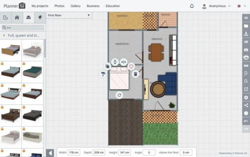 Langkah Desain Perabot 11 - 7 Langkah Mudah Buat Sendiri Denah Rumah Minimalis