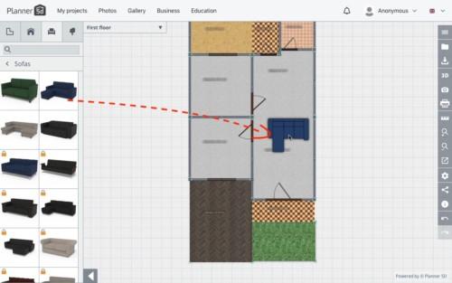 Langkah Desain Perabot 3 - 7 Langkah Mudah Buat Sendiri Denah Rumah Minimalis