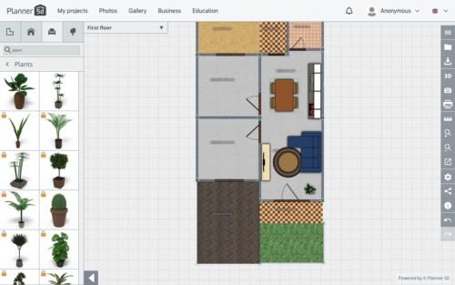 Langkah Desain Perabot 9 - 7 Langkah Mudah Buat Sendiri Denah Rumah Minimalis