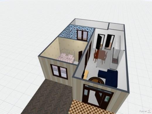 desain rumah 3D 1 - 7 Langkah Mudah Buat Sendiri Denah Rumah Minimalis