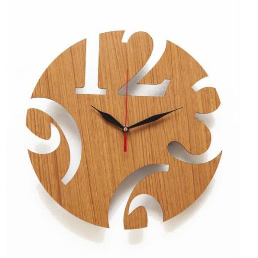 Jam dinding kayu 2 1 - Inspirasi Dekorasi Interior 🕒 Jam Dinding Minimalis