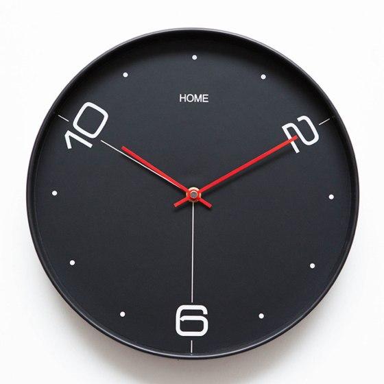 Jam dinding minimalis hitam 1 - Inspirasi Dekorasi Interior 🕒 Jam Dinding Minimalis