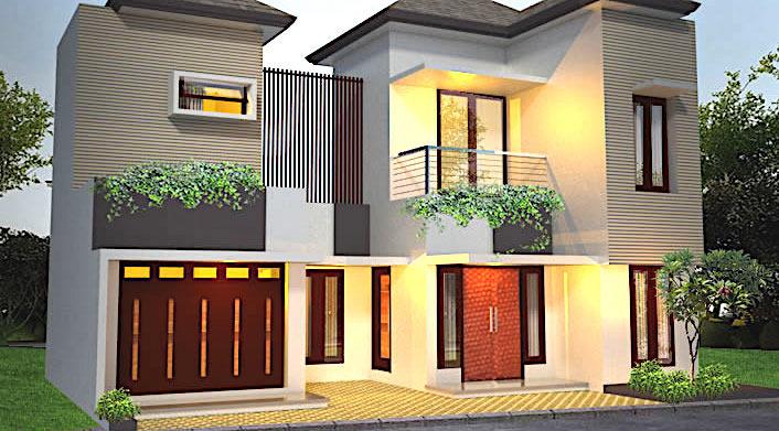 rumah toko 2 lantai lebar 1 - Tips Desain Rumah dan Toko dalam Satu Bangunan 2019
