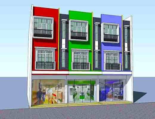 rumah toko 3 lantai minimalis - Tips Desain Rumah dan Toko dalam Satu Bangunan 2019